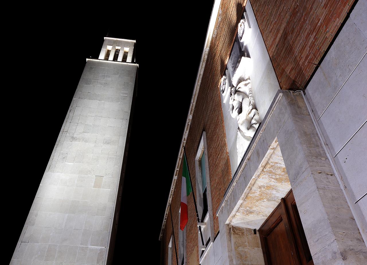 Palazzo comunale e torre civica Sabaudia